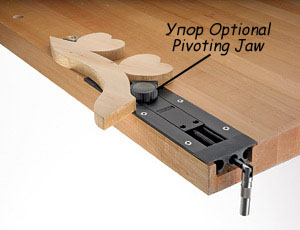 Упор Optional Pivoting Jaw для тисков Veritas Inset Vise