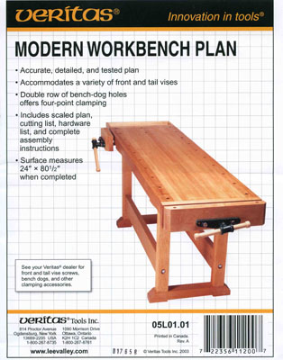 План верстака 'Modern workbench'