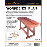 План верстака 'Veritas' workbench'