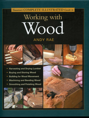 Книга 'Working with Wood', Andy Rae