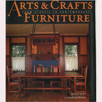 Книга 'Arts and Crafts Furniture', Kevin Rodel & Johnathan Binzen