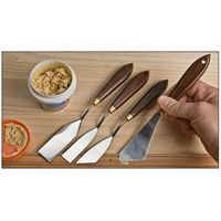 Инструменты для нанесения клеёв и шпатлёвок (кисти мастихины шпр