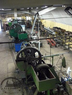 Цех ковки топоров на фабрике Веттерлингс