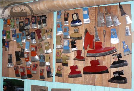 Некоторые модели топоров выпускавшиеся фабрикой Wetterlings