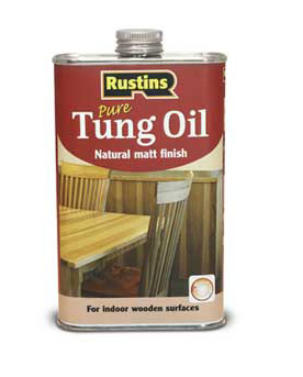 Масло тунговое, Rustins Tung oil, 500мл