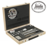 Набор токарный Robert Sorby Sovereign Deluxe Hollowing Tool Set, в дер.ящике