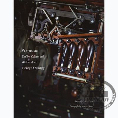 Книга 'Virtuoso: The Tool Cabinet and Workbench of Henry O.Studley'