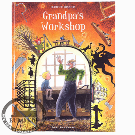 Книга 'Grandpa's workshop', Maurice Pommer