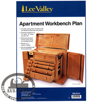 ���� ������ Lee Valley Apartment Workbench Plan