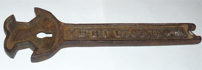 Ключ, завод Столль
