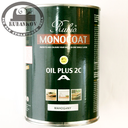 Масло Rubio Monocoat Oil Plus 2C, компонент А, 1л
