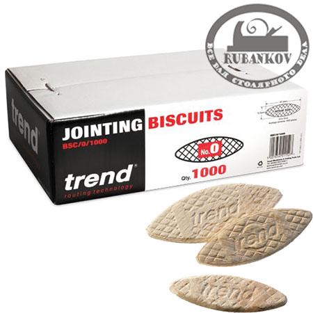 Дюбели ламельные Biscuit Trend