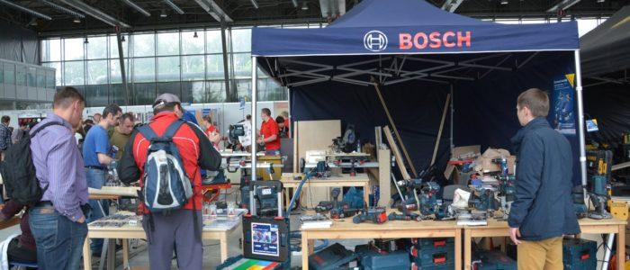 Фестиваль столярного Дела 2015 - Bosch