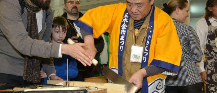 Фестиваль столярного Дела 2016 - Иошихико Окада