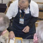 Японский мастер - заточник из компании Suehiro