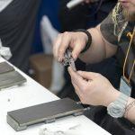 Заточка ножей на площадке Веневского завода