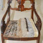 Кресло из музея Реставрационного училища №51 - ФСДСПб2017