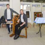 Максим Тарасов и Александр Багров (станок Шевалье, 51 реставрационное училище) - ФСДСПб2017