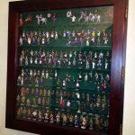 встроенная витрина для коллекции