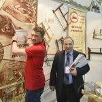 Федор Жильцов (справа) на оценке конкурсных работ #фсд18