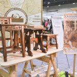 Работы учеников Всеволода Полтавцева на фестивале столярного дела 2018