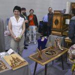 Работы мастеров Дельница на фестивале столярного дела 2018