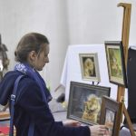 Людмила Кушнир, картины из соломки, #фсд18