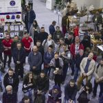 Слушатели мастер-классов, главная сцена, фестиваль столярного дела 2018