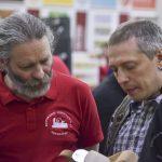Алексей Дейкин и Александ Каштанов обсуждают рубанки ПЕТРОГРАДЪ, #фсд18