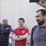 Николай Шлёнов и Александр Матюхин на аукционе #фсд18