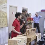 Сергей Клейн представляет лот - настольный верстак с деревянными винтами, #фсд18