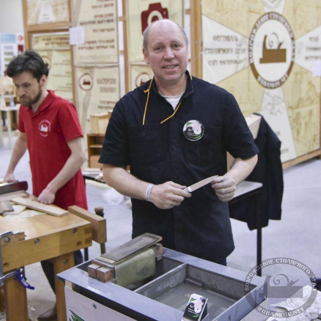 Николай Максимов, заточка ножей и инструментов, #фсд18