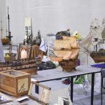 Модели кораблей на фестивале столярного дела 2018