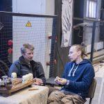 Михаил Кучук и Александр Багров на чаепитии (HeartWood, Gildia.Pro)
