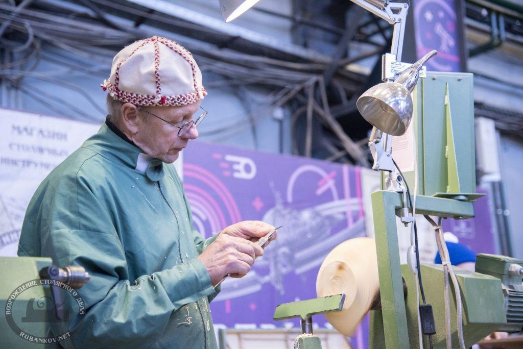Маури Кекконена, токарный мастер-класс (Финляндия)