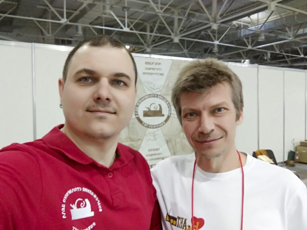 """Дмитрий Пушин и Михаил Кучук """"HeartWood"""" (ФСД19 Краснодар)"""