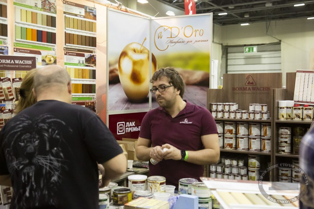 Максим Лифашин рассказывает о продуктах Borma (ФСД19, Москва)