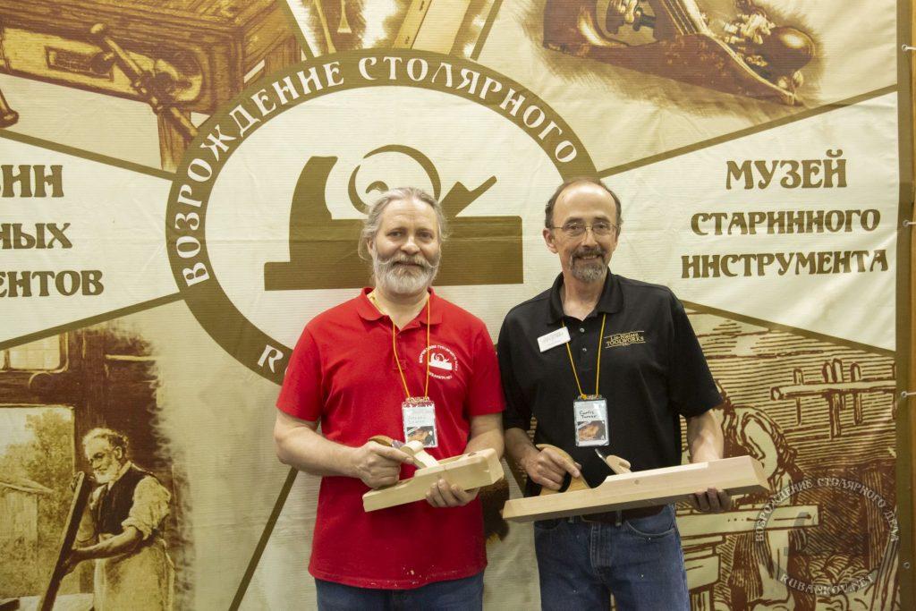 Алексей Дейкин и Кёртис Тёрнер (ФСД19, Москва)