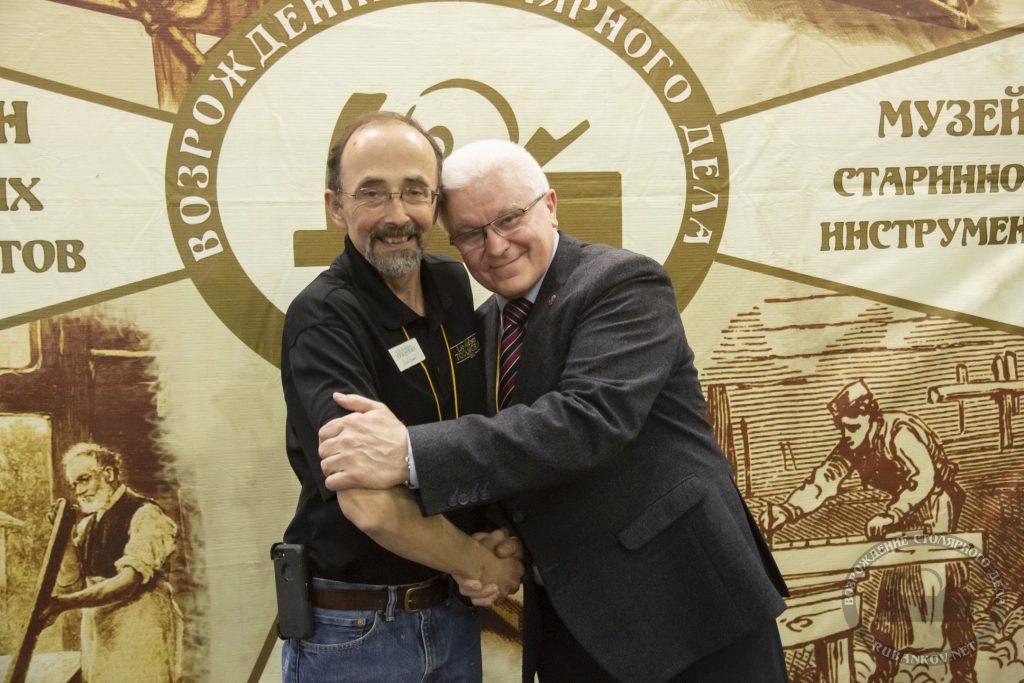 Кёртис Тёрнер и Николай Шлёнов (ФСд19, Москва)