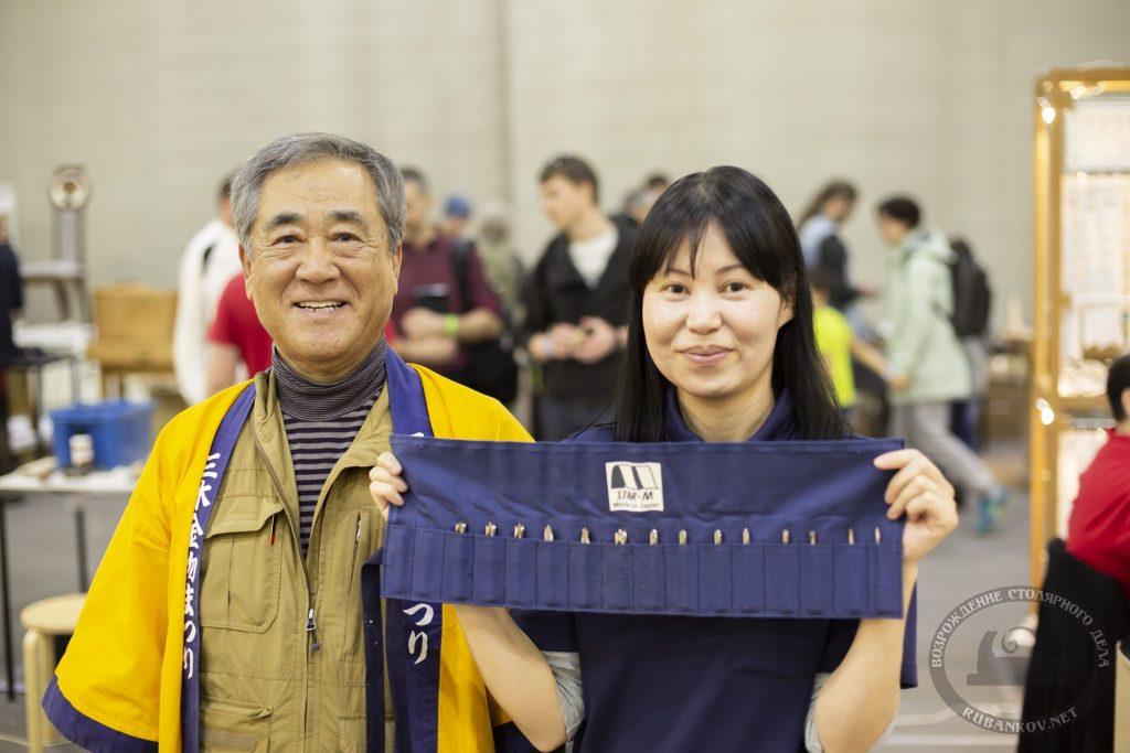 Йошихико Окада и Юми Фурута (ФСД19, Москва)