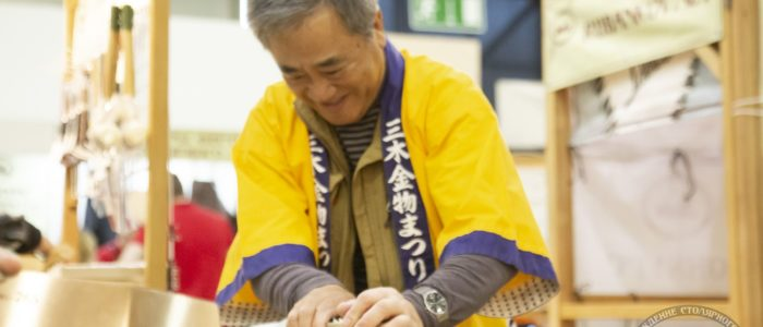 Йошихико Окада, японские инструменты Miki-Tool и Shogun (ФСД19, Москва)