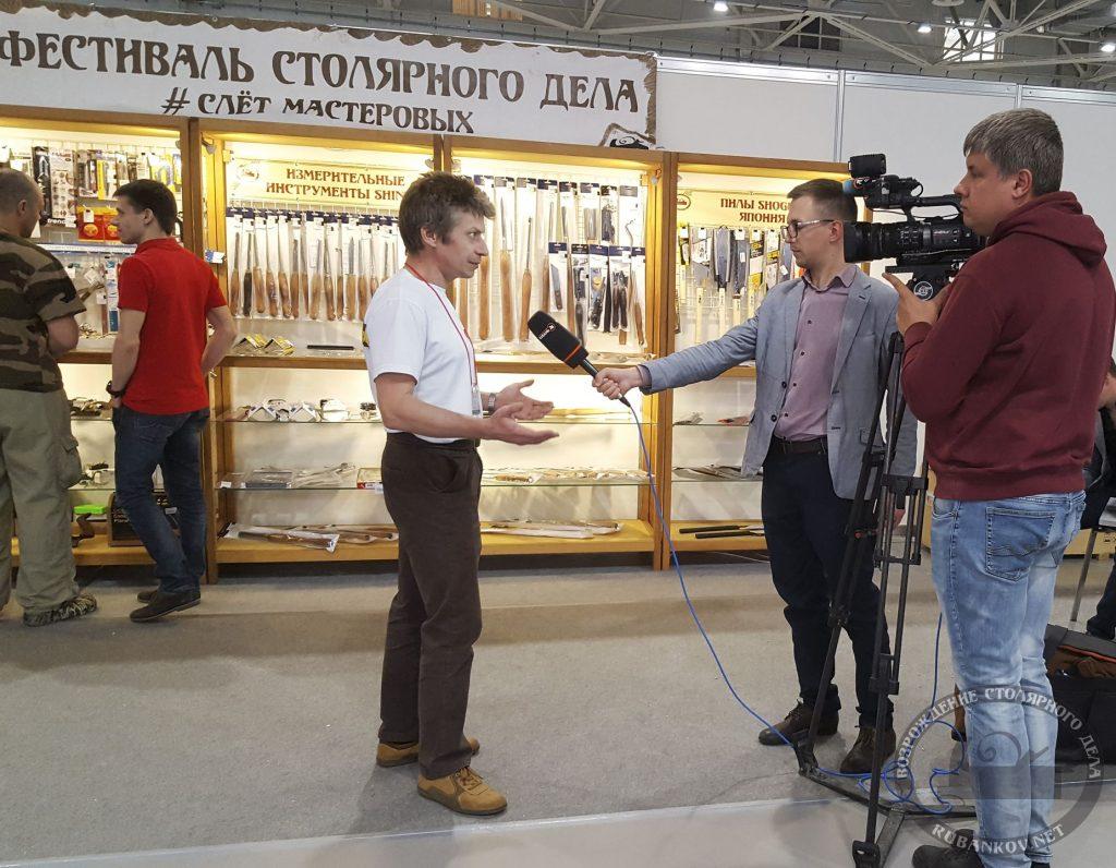 Телеканал Кубань 24, интервью Михаила Кучука (HeartWood)