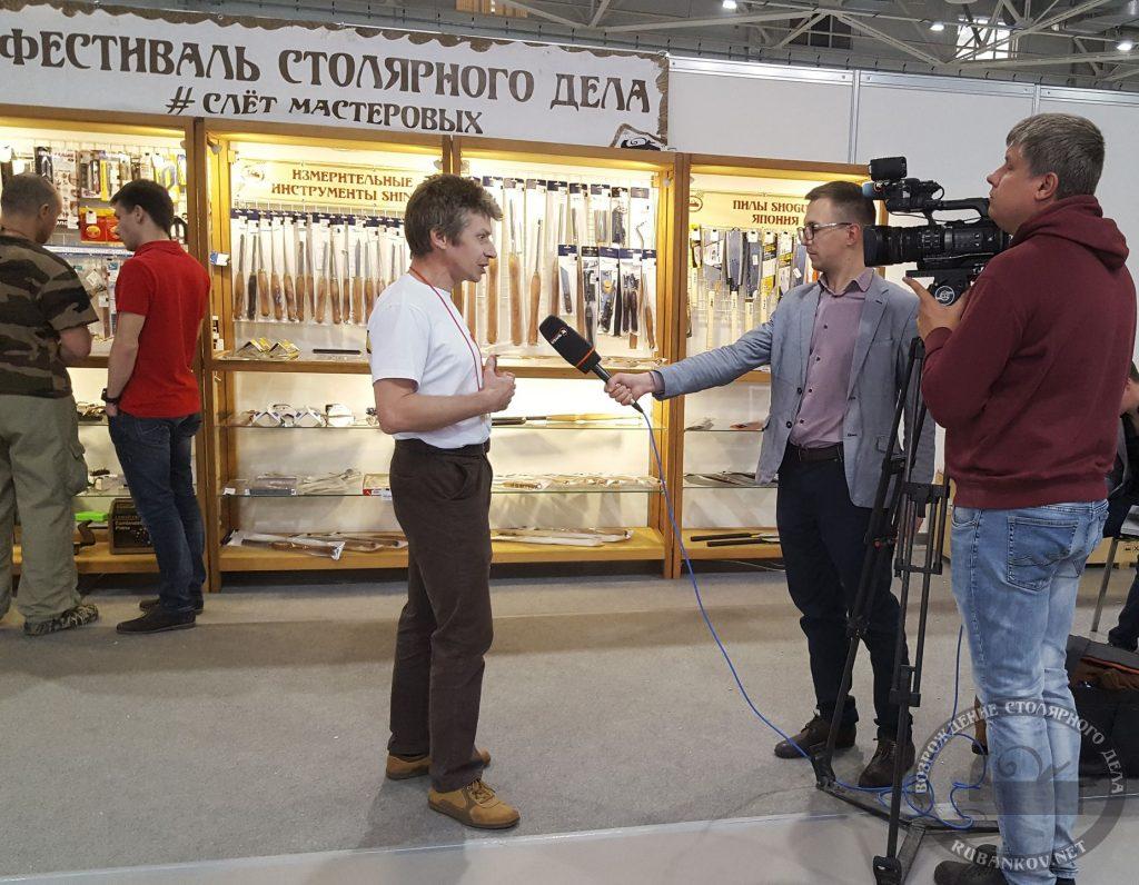 Михаил Кучук (HeartWood) дает интервью телеканалу Кубань 24