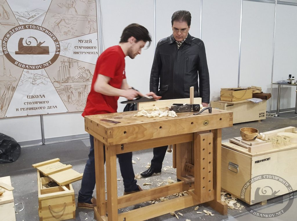 Сергей Клейн, мастер-класс о ручном инструменте
