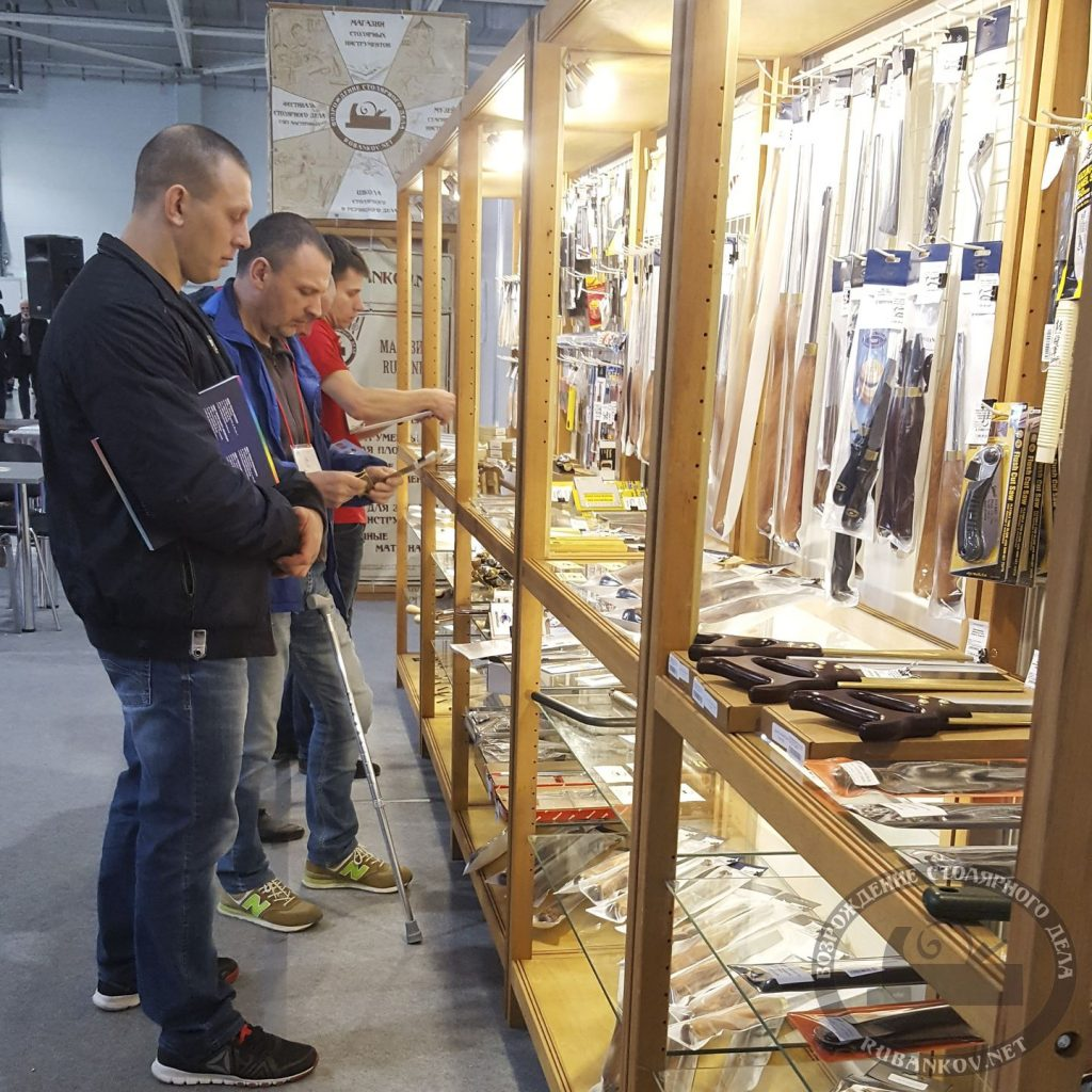 стенд магазина Rubankov на ФСД19 в Краснодаре