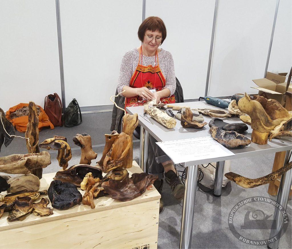 Татьяна Трошева, мастер-класс корнепластика