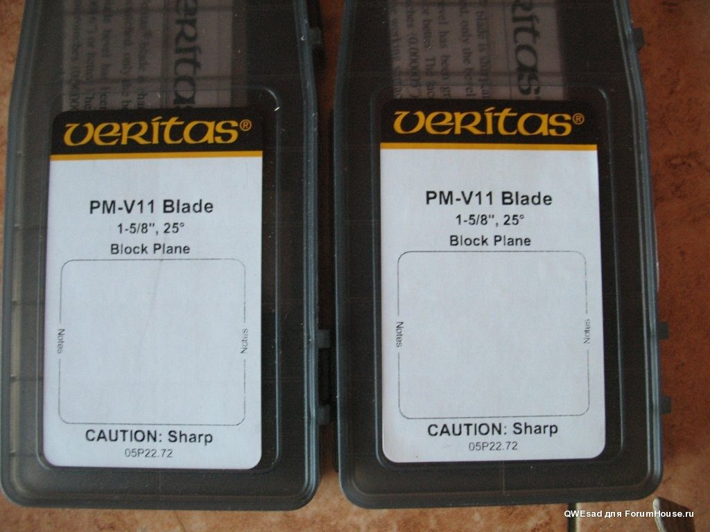 Ножи из PMV-11 для рубанка