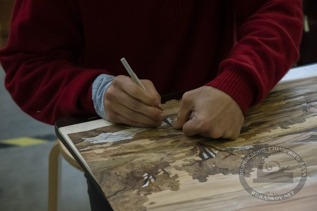 Изготовление маркетри, ФСД19 в Петербурге