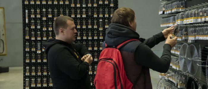 Стенд Фрезы Arden, ФСД19 в СПб