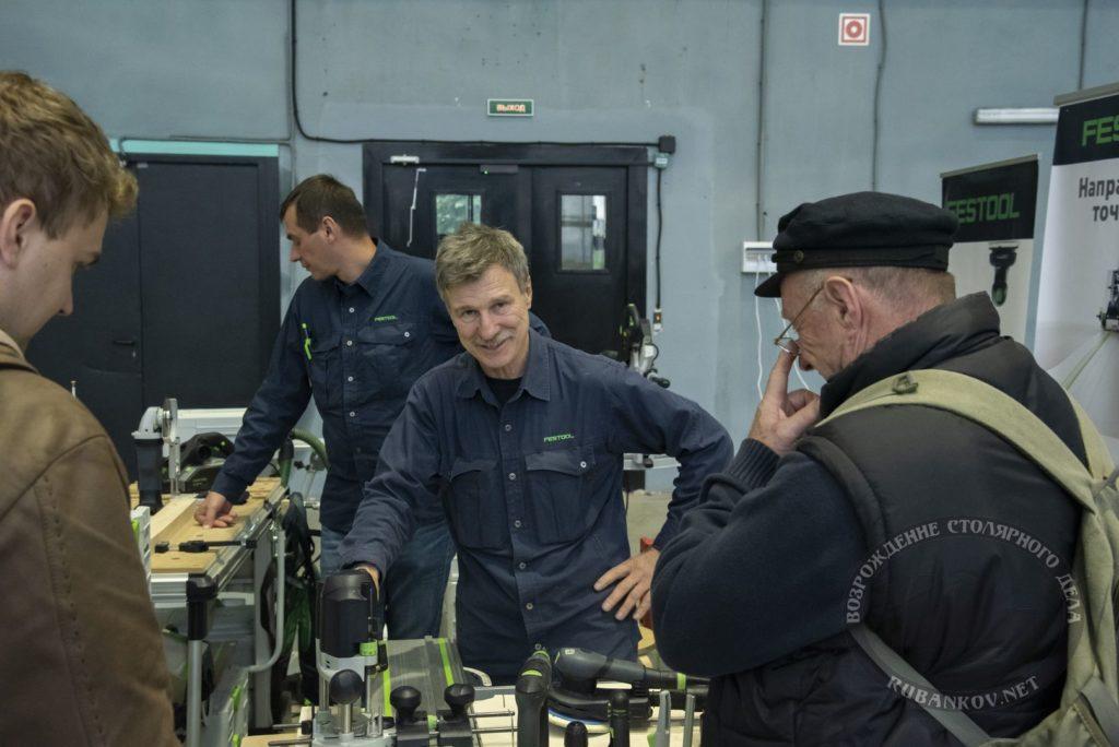 Виктор, стенд Festool на ФСД19 в СПб